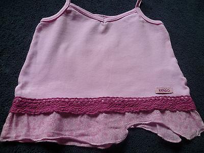 Girls Keedo pink skirt & top set (size medium) 2