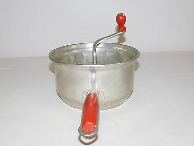 Ricer Food Mill Vintage Red Handle Foley