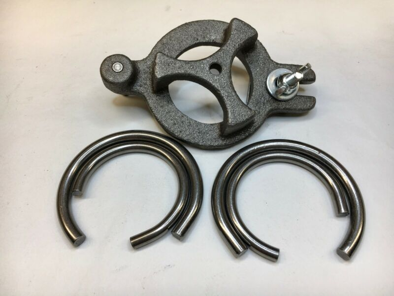 Clock Mainspring Winder and Clamps for Loop End Springs 2