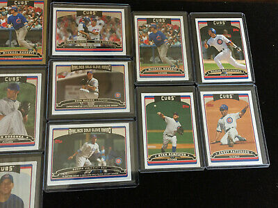2006 Topps Lot of 27 Chicago Cubs: Maddux, Barrett, GOLD Serial, Rich Hill RC 3