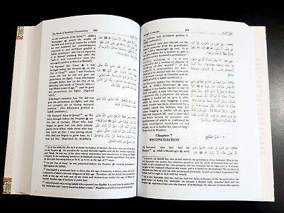 ISLAMIC BOOK (BULUGH AL-MARAM) PROPHET HADITH P in 2002. English Arabic 6