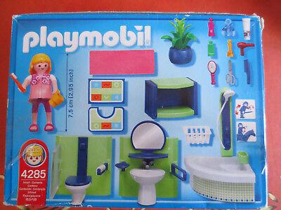 PLAYMOBIL - 4285 Salle de bains baignoire douche WC