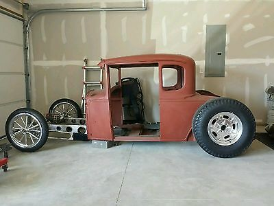 MODEL A FORD 1928-31 Spike style front frame rail Kit Rat Rod Hot ...