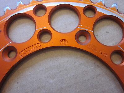Ritzel für KTM LC4 620 Enduro Alukettenrad Baujahr 90-99 mit 15 Zähnen
