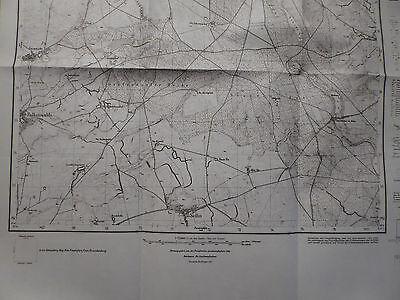 Landkarte Meßtischblatt 3153 Wartenberg i.d. Neumark / Chełm Dolny, Königsberg