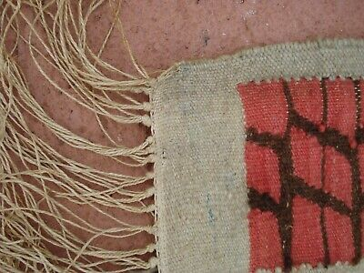 Hand Knotted Vintage Egyptian Kilim Weaving Rug from Ramses Wissa Wassef shops 7