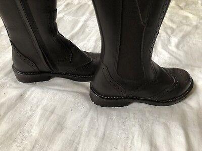HIP Stiefel gefüttert Leder schwarz Gr.26