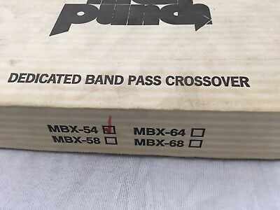 Rockford Fosgate MBX-54 Dedicated Band Pass Crossovers BRAND NEW 3