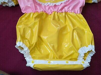 Adult Baby Body Spreizbody Windelbody DIAPER SPREIZHOSE PVC LACK HALLO KITTY XL 2