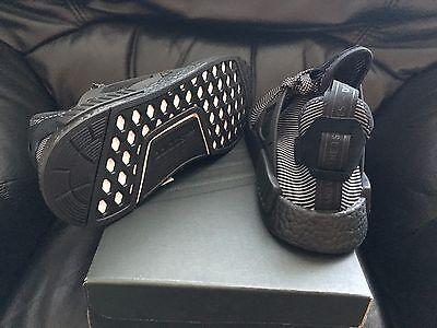 10cb4a1a473 ... Adidas Nmd Xr1 Runner Triple Black Primeknit Sizes Uk 7   8 New 3
