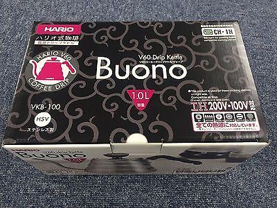Hario V60 Buono Coffee Drip Kettle 1,000ml VKB-100HSV VKB-100 MADE IN JAPAN 2