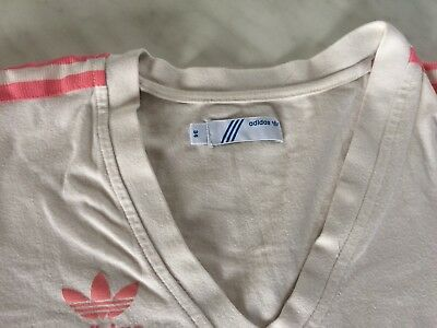 tee shirt  blanc manches longues ADIDAS  taille 34 bon état 2