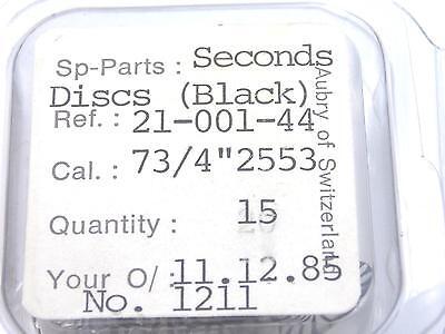 Ladies 11.38mm Borel Cocktail Vintage Watch Dial Seconds Disk Kaleidoscope 3
