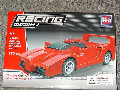 Muscle Car Racing BricTek Building Block Construction Toy Bric Tek Brick