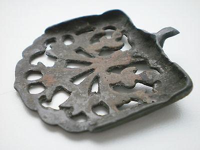 RARE ANCIENT Bronze Belt Decoration Belt End Viking Kievan Rus  10 - 12 cen AD 5