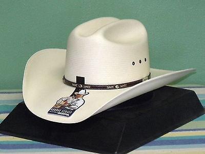 RESISTOL GEORGE STRAIT Lambert 10X Straw Cowboy Western Hat -  94.95 ... 7e414800560