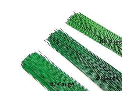 50g 100g & 250g Green Florist Stub Wire Large Choice of Gauge & Length Wires ML