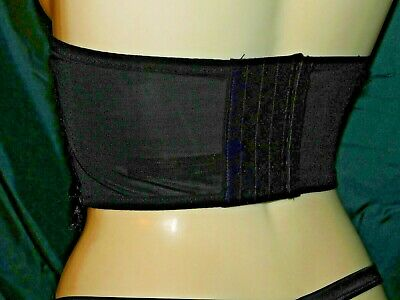TIA SIZE 2XL BNWT Details about  /BLACK CUT OUT STRAPPY WASPIE ANN SUMMERS