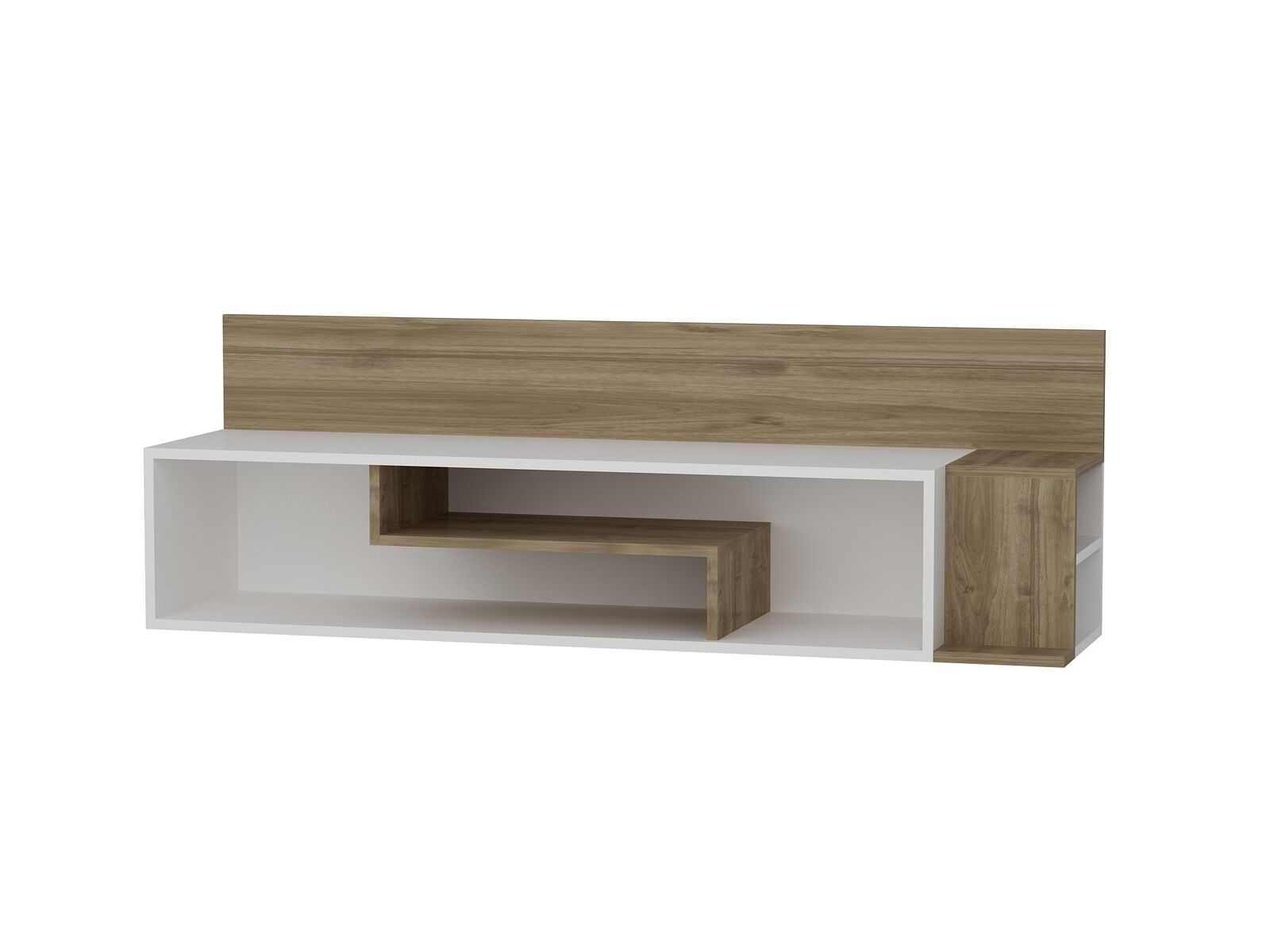 Wohnwand Weiss Tv Lowboard Holz Wohnzimmerschrank Modern Sideboard