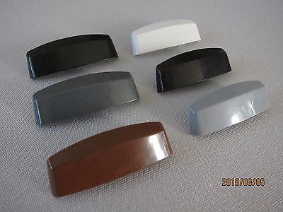 Wasserschlitzkappen 30 Stk für PVC-Fenster Anthrazitgrau,Schüring für Schüco uvm