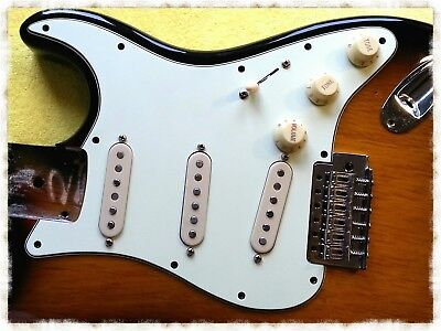 Brilliant Fender Stratocaster Strat Fully Populated Pick Guard Complete Pickup Wiring Cloud Hisonuggs Outletorg