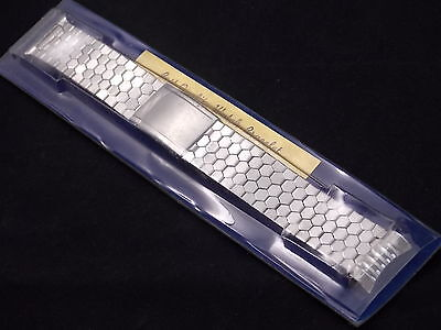 Best Quality Vintage Watch Band Bracelet Mens 18mm Stainles Expansion Deployment 7