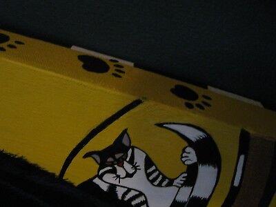 "C102  Original Acrylic Painting By Ljh    ""Tootsie""      Cat 2"