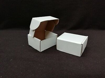 White Postal Cardboard Boxes Small Mailing Shipping Cartons Multi Listing PIP 6