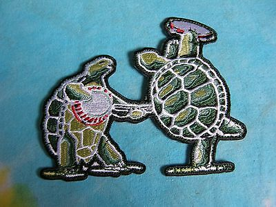 0873cee1499 ... Grateful Dead Dancing Terrapins with Banjo   Tambourine 4.5 Inch Iron  On Patch 2