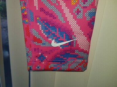 NIKE Brand New Girls Gym Trousers Pink Sports Running Leggings 13-15 Years Kids 2