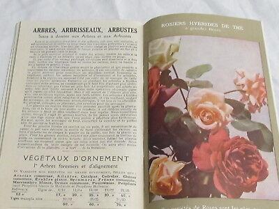Catalogue Georges Truffaut Automne 1927 + 4 feuillets  bulbes rosiers engrais 9