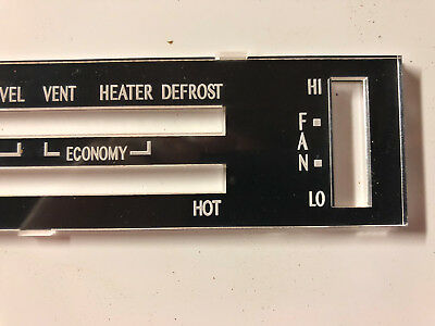 RBLT 79 Silver Anniversary TRANS-AM RED A//C Heater Control Air Firebird AC Temp