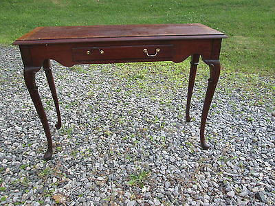 Awe Inspiring Hickory Chair Mahogany Console Table Historical James River Machost Co Dining Chair Design Ideas Machostcouk