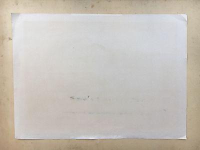 Ernst Syberg 1906-1981 Windiger Tag An Der Küste - Lithografie 1970 12