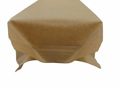 Kraft Brown Paper Bags With Window, Heat Seal For Catering,cakes, Fruits,pastry 5