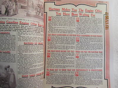 1916 Hartman Co Majestic Gas Engine Catalog All sizes, hit miss, mags, pumps 2