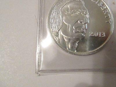 2013 Buffalo 1 oz. .999 Fine Silver Round Coin 3
