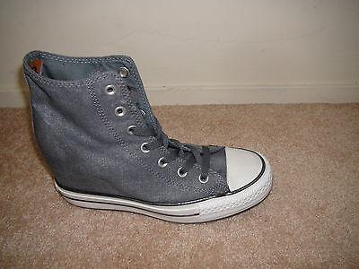 ba1975290e2f ... Converse Chuck Taylor® All Star® CT Platform Plus Hi Gray 545037C  Sneakers NEW 5