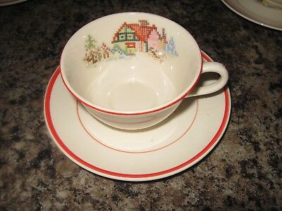 Crooksville China Pottery  Made In USA 4