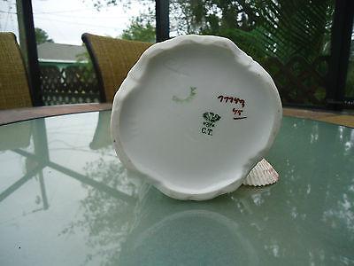 Vintage Porcelain German CT Floral Pitcher Signed & Numbered 6