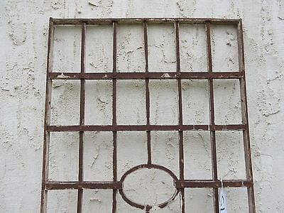 Antique Victorian Iron Gate Window Garden Fence Architectural Salvage Door #75 4