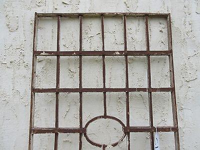 Antique Victorian Iron Gate Window Garden Fence Architectural Salvage Door #75 4