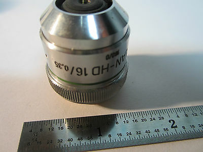 Optique Microscope Objective Zeiss Allemagne HD Epiplan 16x Optiques Bin # Axio 2