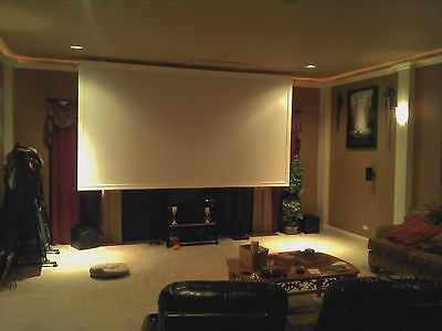 "113"" 2.35:1 Pro Grade Projector Screen (Bare) Projection Material Made In Usa!!"