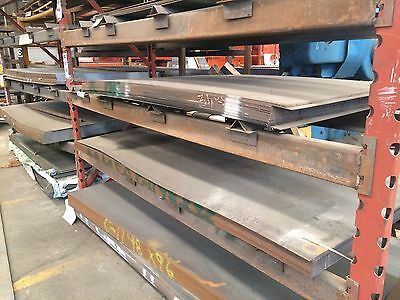 """1/4"""" .250 HRO Steel Sheet Plate 8"""" x 12"""" Flat Bar A36 6"""