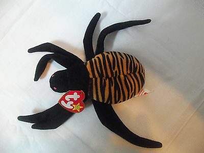 TY Beanie Babies Spider** SPINNER ** 5th Generation New w/ Tag