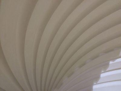 2 Fluted NICHE CAP SHELLS (Handmade) Absolute Spectacular! Achitectural Plaster 12