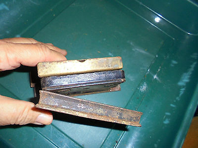Three Lock Inserts See No Names  Vtg 8