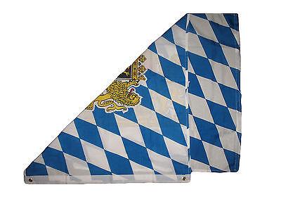 2x3 Bavaria Bavarian Freistaat Super Poly Flag 2/'x3/' Banner