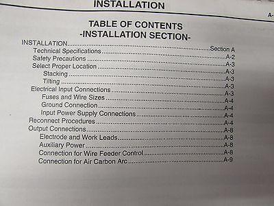 Welder Service Manual